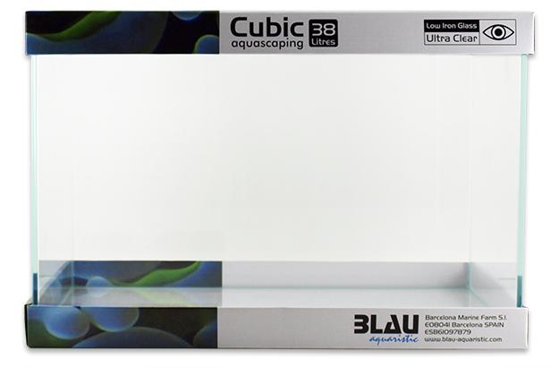 Blau Cubic Aquascaping 38