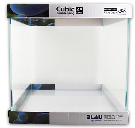 Blau Cubic Aquascaping 42
