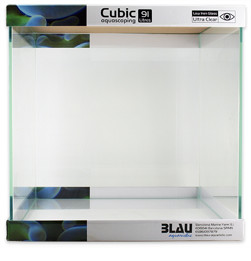 Blau Cubic Aquascaping 91