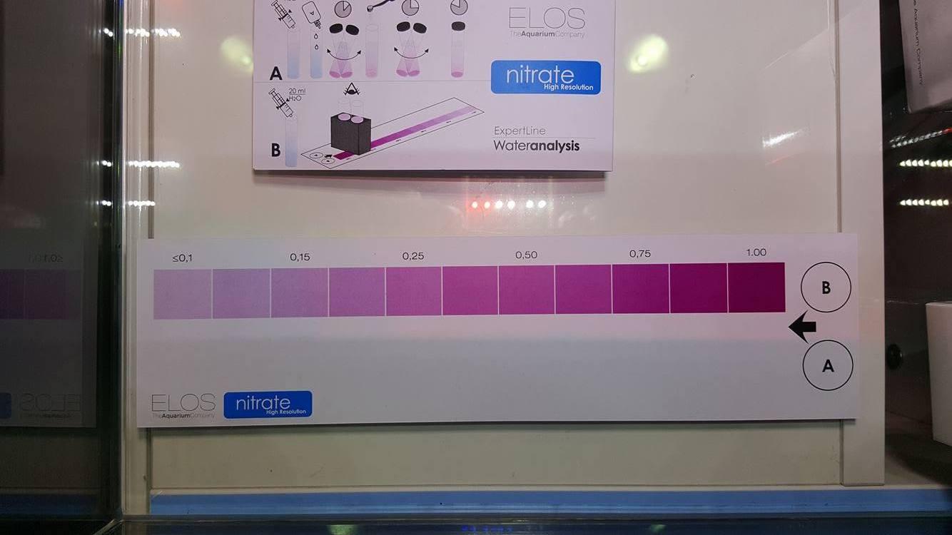 elos kit de test nitrate basse résolution