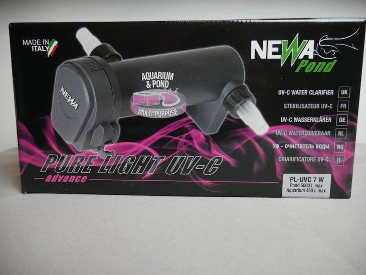 Packaging du Newa Pure Light UV-C de 7w