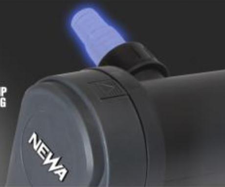 Le Newa Pure Light UV-C dispose d'un témoin de fonctionnement de la lampe UV-C.