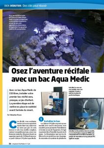 aquarium à la maison 124 Lancement cubicus aquamedic